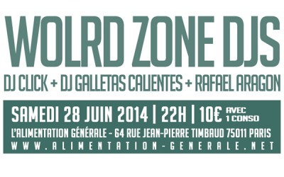 Event: Paris: World Zone Djs Special Demencia Tropical