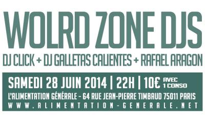 Event: Paris: World Zone Djs Special Demencia Tropical