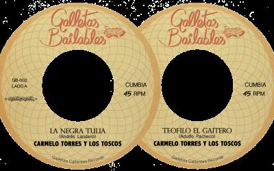 Carmelo Torres y Los Toscos.  Limited 7″ Vinyl