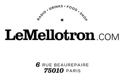 New Galletas Calientes Dj set for Le Mellotron, Paris.